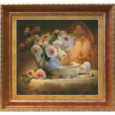 Junona Tea Still life Cross Stitch Kit (1203)