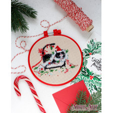 Impudent Muzzle Cross Stitch Kit, Abris Art AHM-025